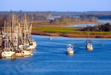 The Mighty Apalachicola River, Apalachicola, Florida, USA